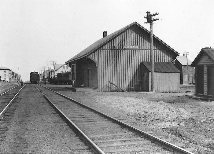 Centralia, Pennsylvania Railroad Station.