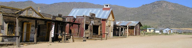 Old Town Chloride, Arizona by Kathy Weiser-Alexander.