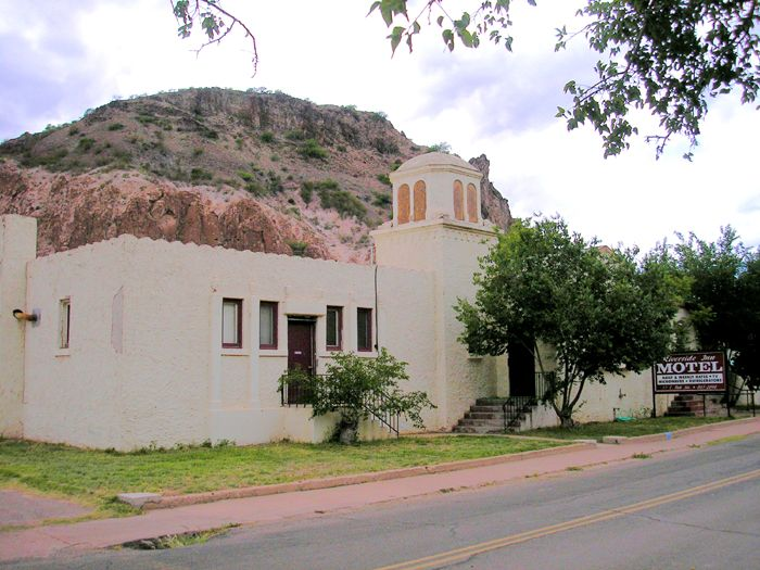 The Clifton Mineral Hot Springs and Bath House later became a motel by Kathy Weiser-Alexander.