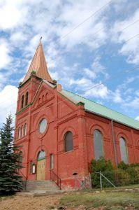 A church in Cripple Creek, Colorado by Kathy Weiser-Alexander.