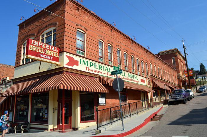 Imperial Hotel in Cripple Creek, Colorado by Kathy Weiser-Alexander.