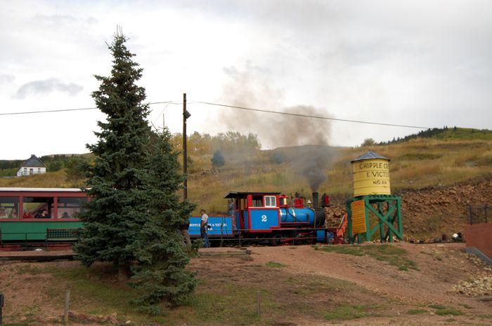 Cripple Creek-Victor Railroad by Kathy Weiser-Alexander.