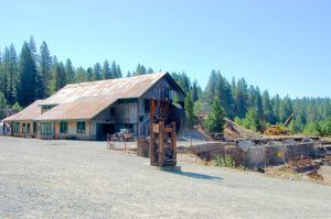 Empire Mine in Grass Valley, California by Kathy Weiser-Alexander.