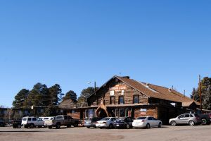 The Museum Club in Flagstaff, Arizona by Kathy Weiser-Alexander.