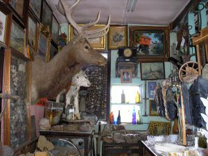 Oddities at the Wonder Tower Museum in Genoa, Colorado by Kathy Weiser-Alexander, 2006.