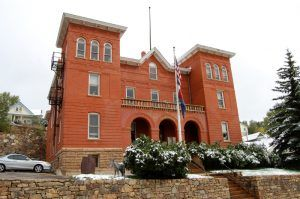 The Gilpin County Courthouse in Central City, Colorado today by Kathy Weiser-Alexander.