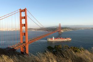 The Golden Gate Bridge in San Francisco, California today, by Carol Highsmith.