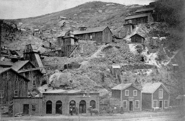 Gregory Gulch, Colorado by W.H. Reed, 1865.