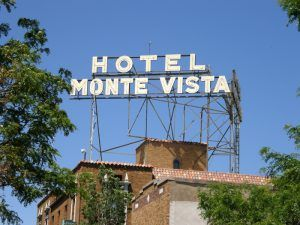 Hotel Monte Vista in Flagstaff, Arizona by Jim Hinkley.