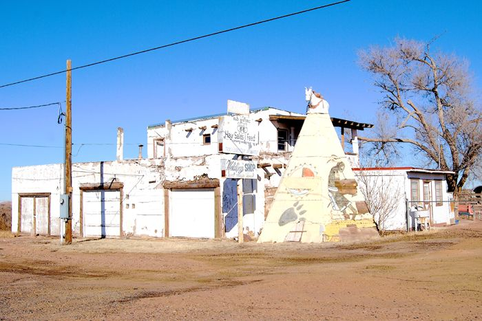 Hopi Village in Joseph City, Arizona later became known as Howdy Hanks, by Kathy Weiser-Alexander.
