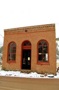 The old BonTon Saloon in Nevadaville, Colorado by Kathy Weiser-Alexander.
