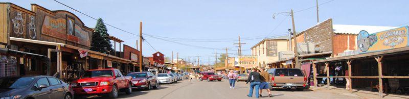Oatman, Arizona by Kathy Weiser-Alexander.