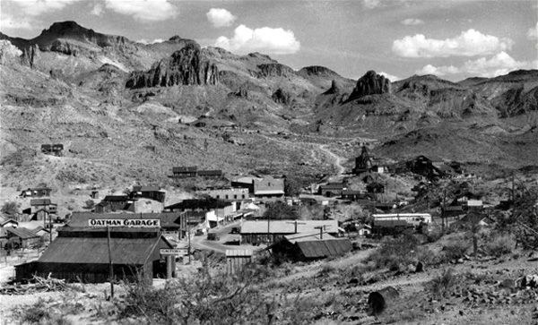 Oatman, Arizona, 1934.