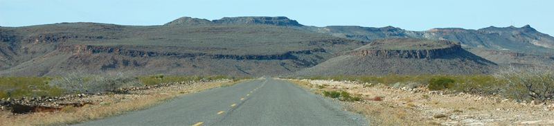 Oatman Road from Kingman, Arizona by Kathy Weiser-Alexander.