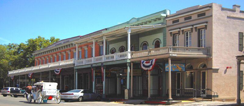 Old Town Sacramento, California by Kathy Weiser-Alexander.