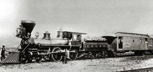 The Oregon-California Railroad.