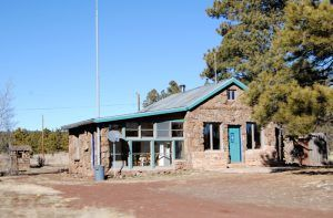 A building in Parks, Arizona by Kathy Weiser-Alexander.