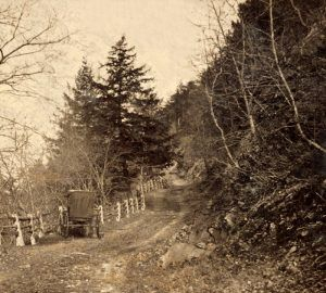 Reading Road in Pennsylvania about 1860.