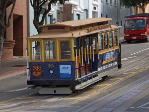 San Francisco Cable Car by Jon Sullivan.