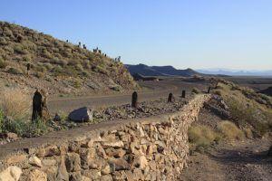Sitgreaves Pass near Oatman, Arizona by Jim Hinkley.