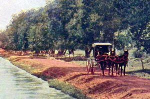 The Swilling Canal in 1909.