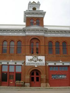 Victor, Colorado City Hall by Kathy Weiser-Alexander.
