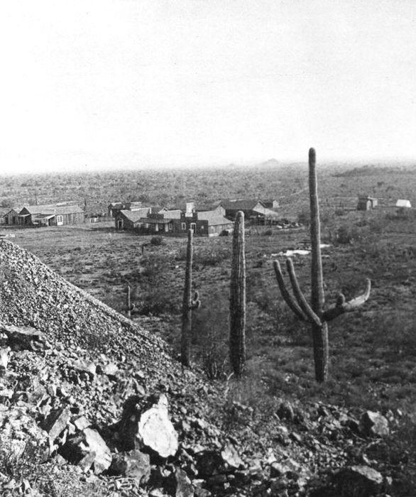 Vulture City, Arizona, 1870s.