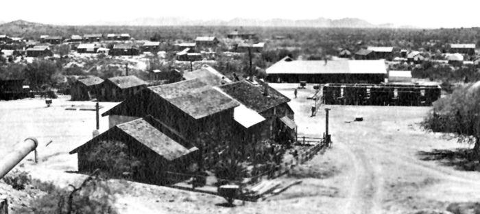 Vulture City, Arizona, 1900.