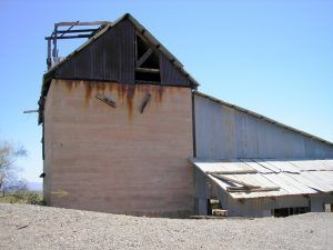Old Mill Building in Vulture, Arizona by Kathy Weiser-Alexander.