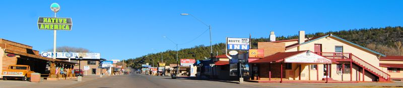 Route 66 through Williams, Arizona by Kathy Weiser-Alexander