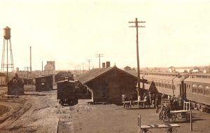 Friscoe Depot in Afton, Oklahoma.