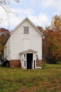 An old building in Arlington, Missouri by Kathy Weiser-Alexander.
