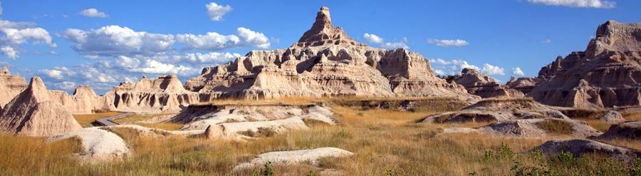 Badlands National Park, South Dakota by Carol Highsmith.