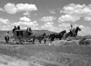 Black Hills, South Dakota Stagecoach