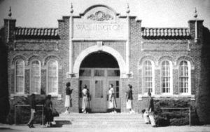 Booker T. Washington Highschool, one of the best African-American schools in the nation, was located in Luther, Oklahoma.