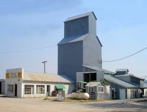 The old Nolan Elevator in Buffalo Gap, South Dakota is now the Rancher's Feed & Seed by Kathy Weiser-Alexander.