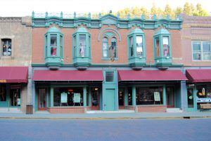 The Green Door Club was once one of the most famous brothels in Deadwood, South Dakota. Today it is a casino and restaurant. Photo by Kathy Weiser-Alexander.