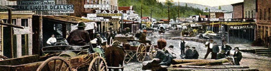 Historic People of Deadwood, South Dakota