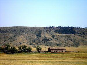 An old farm near Buffalo Gap, South Dakota by Kathy Weiser-Alexander.