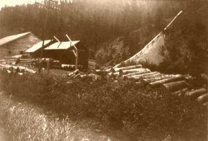 Frink Sawmill, Mystic, South Dakota, 1930.