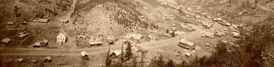 Galena, South Dakota by John Grabill, 1890.