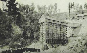 Hoodoo Mine in Galena South, Dakota.