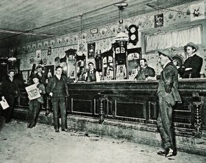 Bar at the Gem Variety Theatre in Deadwood, South Dakota.