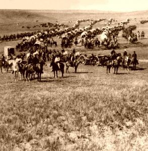 George Armstrong leads an expedition into the Black Hills in 1874.
