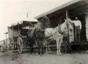 James Houck's Store, Saloon, Post Office, and Stage Station in Cave Creek, Arizona.