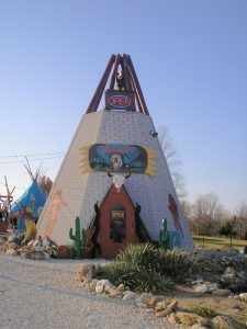 Indian Harvest Trading Post between Villa Ridge and St. Clair, Missouri by Kathy Weiser-Alexander.