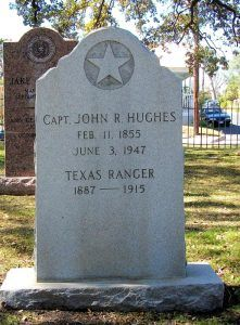 Captain John R. Hughes Grave at the Texas State Cemetery in Austin.
