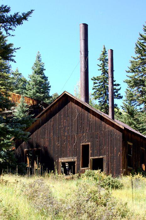 Klondike Mine, Eagle Nest New Mexico by Kathy Weiser-Alexander, 2008.
