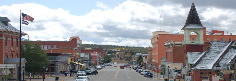 Harrison Avenue, Leadville, Colorado by Kathy Weiser-Alexander.