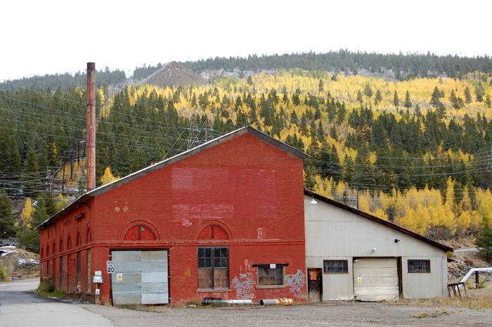 Yak Power Plant in Leadville, Colroado by Kathy Weiser-Alexander.